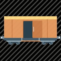 locomotive, train, train bogie, train carriage, transport icon