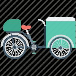 bike shop, food bike, food stand, ice cream bike, mini shop icon