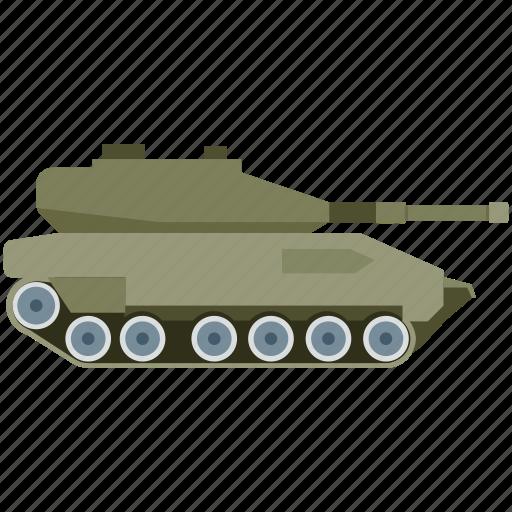 army tank, battle tank, military tank, war, weapon icon
