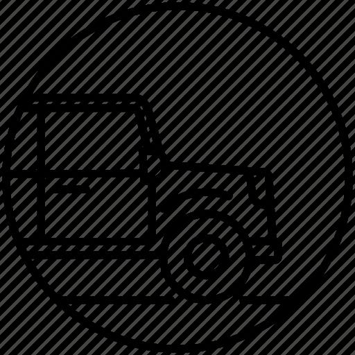 adventure, car, crossover, jeep, offroad, safari, transport icon