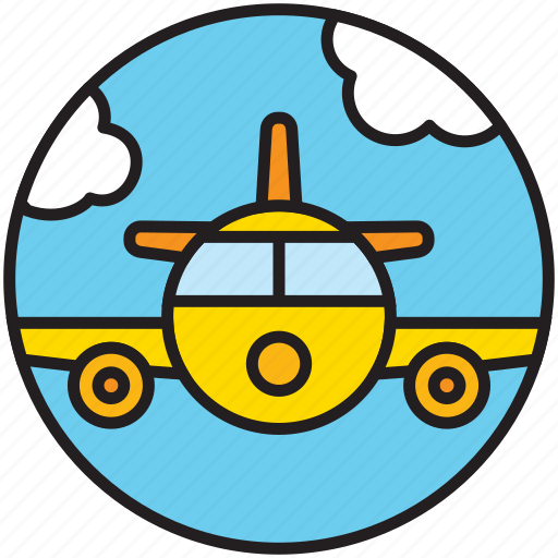 airline, airplane, flight, flying, plane, sky, transport icon