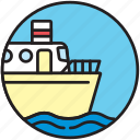 boat, cruise, ferryboat, sailor, ship, shipping, transport