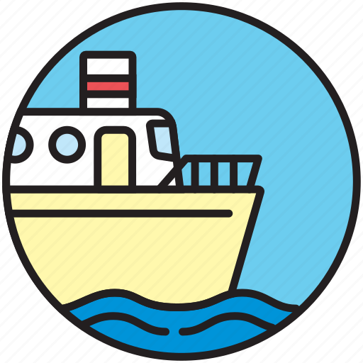 boat, cruise, ferryboat, sailor, ship, shipping, transport icon