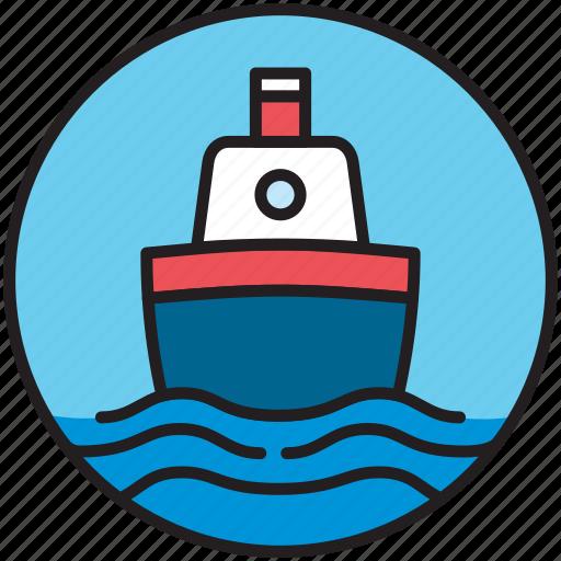 boat, cargo, cruise, sailor, ship, shipping, transport icon