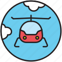 flight, fly, flying, heliport, transport icon