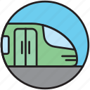 metro, public transport, railway, train, underground icon