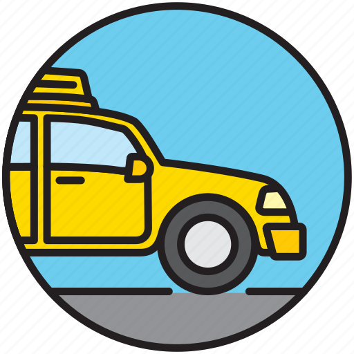 cab, car, taxi driver, transfer, transport, vehicle icon