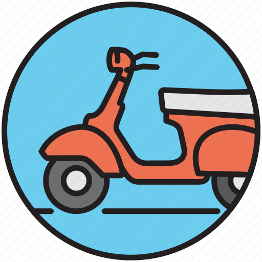 bike, driving, motorbike, motorcycle, scooter, transport, vespa icon