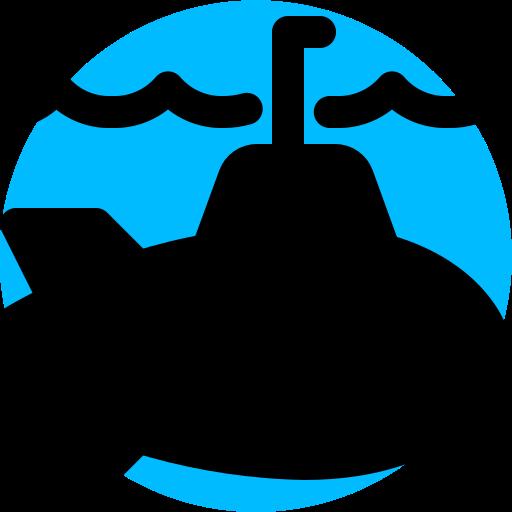 marine, military, submarine, underwater icon