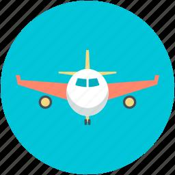 aeroplane, airliner, airplane, passenger plane, plane icon