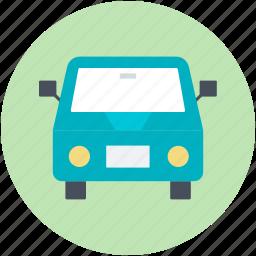 public hire, taxicab, tour van, tourist car, van icon