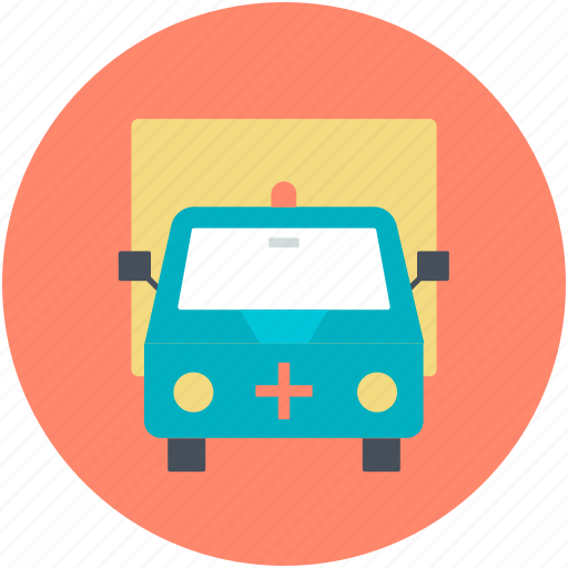 aid van, ambulance, humanitarian, medical truck, rescue icon