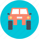 camo car, quad, quad car, transport, vehicle icon