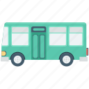 bus, public bus, school bus, transport, vehicle icon
