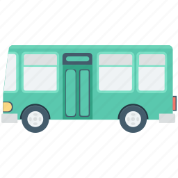 bus, public bus, school bus, transport, vehicle icon