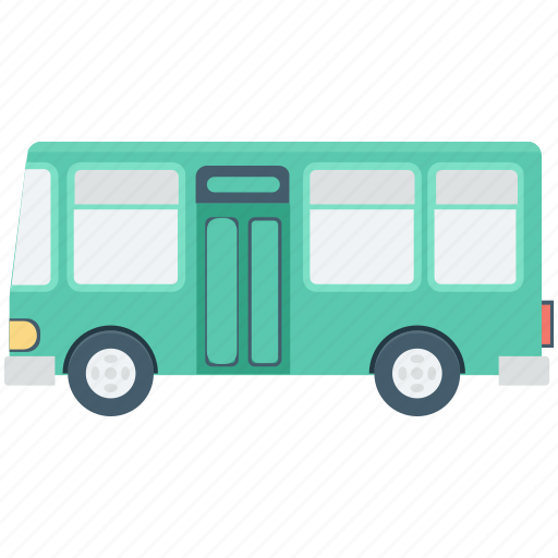 Bus, public bus, school bus, transport, vehicle icon - Download on Iconfinder
