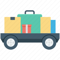 cargo, delivery van, logistics, shipment, shipping truck icon