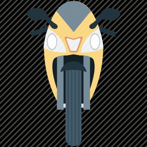 bike, heavy bike, motor bike, motorcycle, sports bike icon
