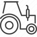 farm, tractor, transport icon