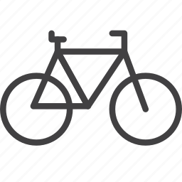 bicycle, bike, cycling, transport icon