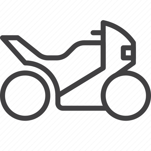 bike, motorbike, sport, transport icon