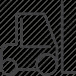 forklift, logistics, truck icon