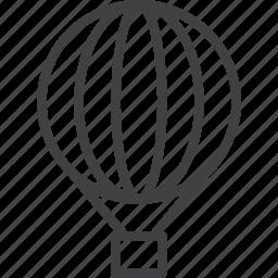 air, balloon, hot, transport icon