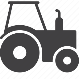 farming, tractor, transport icon