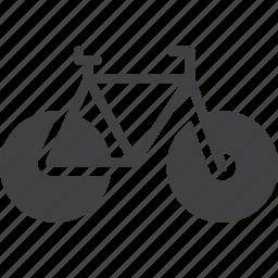 bicycle, bike, transport icon