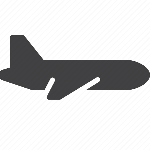 airline, airport, plane, transport icon