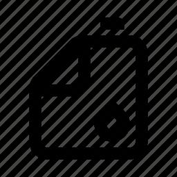 drop, fuel, gas, jerrycan icon