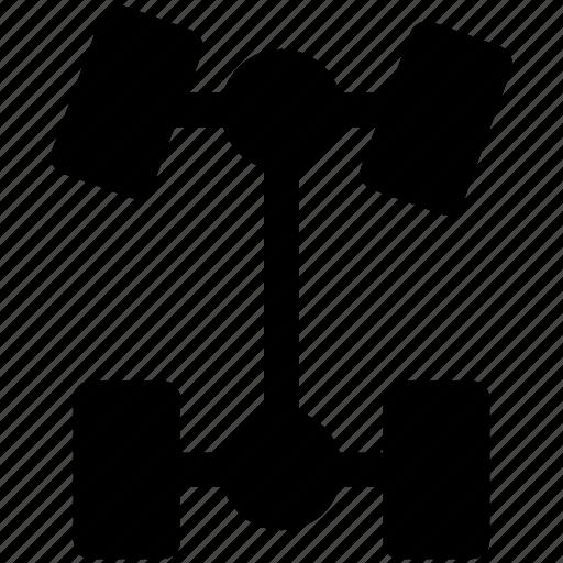 auto, car, chassis, mechanics icon icon