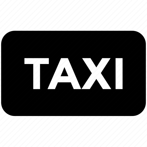 cab, coupes, taxi, taxicab, vehicle icon icon