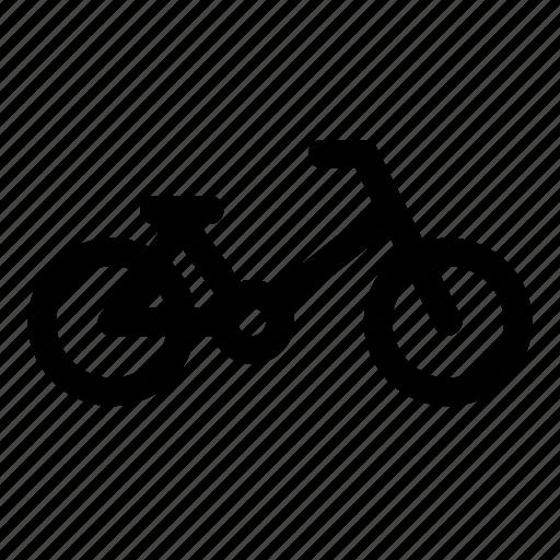bicycle, bike, cycle, transport, urban, wheels icon