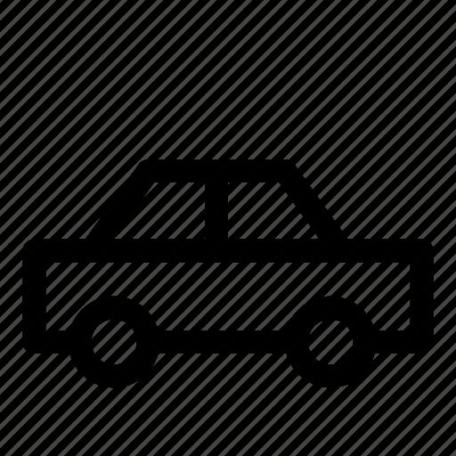 auto, automobile, car, road, sedan, transport icon