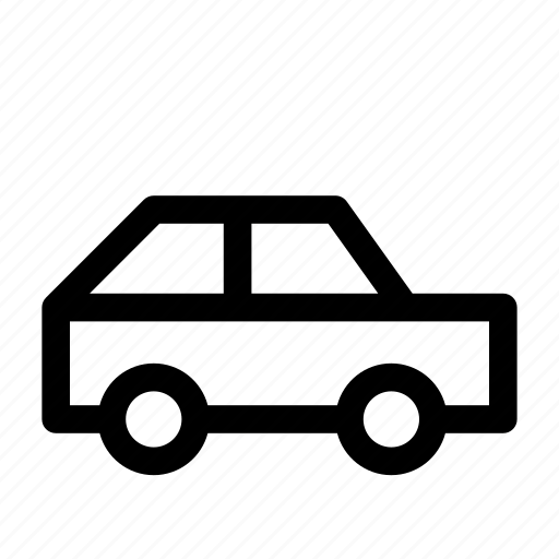 automobile, car, city, hatchback, road, transport icon