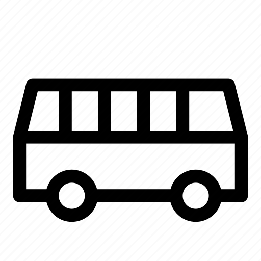 bus, car, passenger, public transport, road, transportation icon