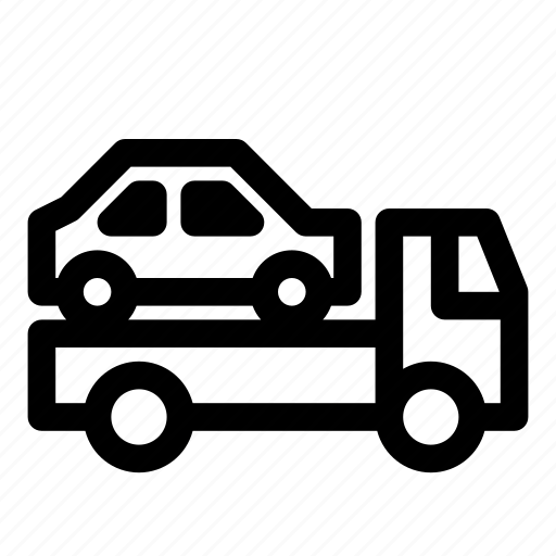 car, road, tow truck, transport, transportation, truck, vehicle icon