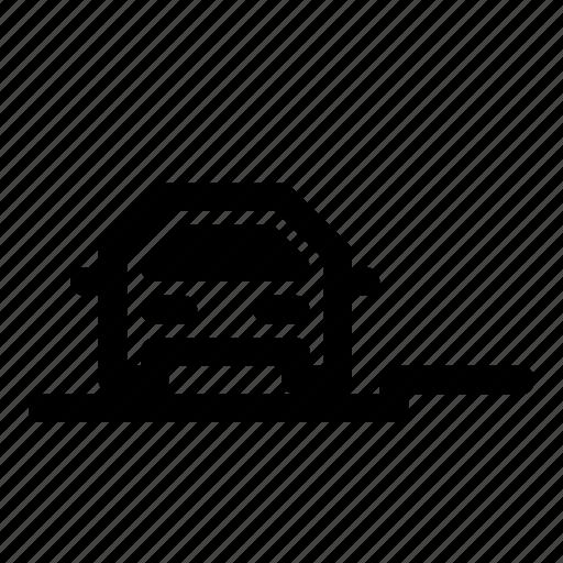auto, automobile, car, parking, pavement, transport icon