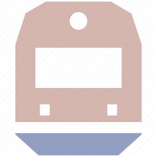 public vehicle, railway, train, transport, transport vehicle, transportation icon