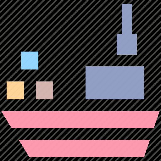 boat, cruise, luxury cruise, ship, shipment, travel, vessel icon