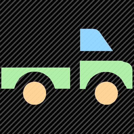 goods transport, shipping, transport, transportation, travel, truck, van icon
