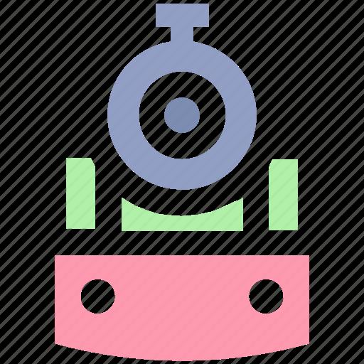 locomotive, metro, rail, subway, train, transport icon