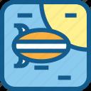 baloon, flying, plane, sky, transportation, vehicle icon