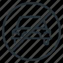 car, forbidden, vehicle, sign