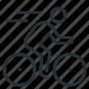 cyclist, bike, bicycle