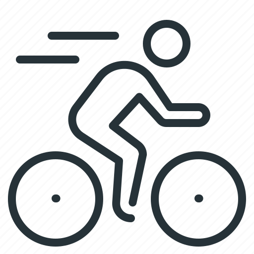 Cyclist, bike, bicycle icon - Download on Iconfinder