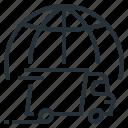 globe, transportation, logistics, delivery, world