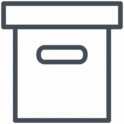 box, delivery, logistics, package, transport, transportation icon
