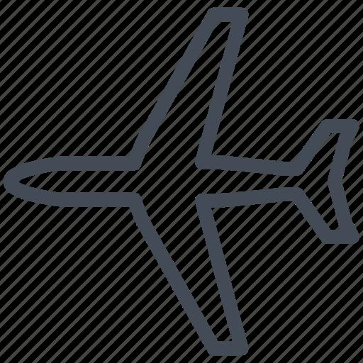 airplane, logistics, plane, transport, transportation icon